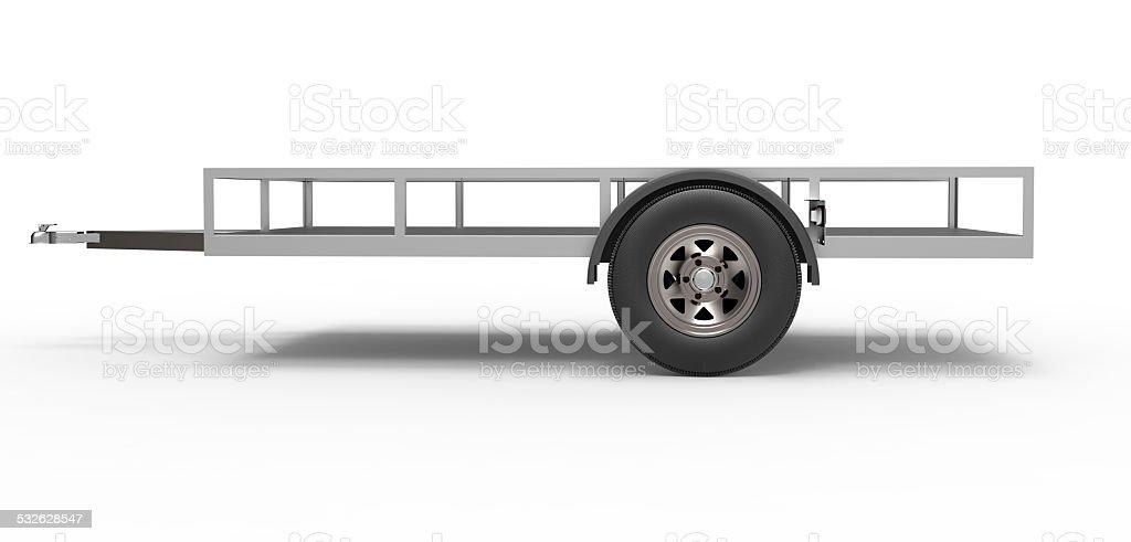 vehicle Trailer stock photo