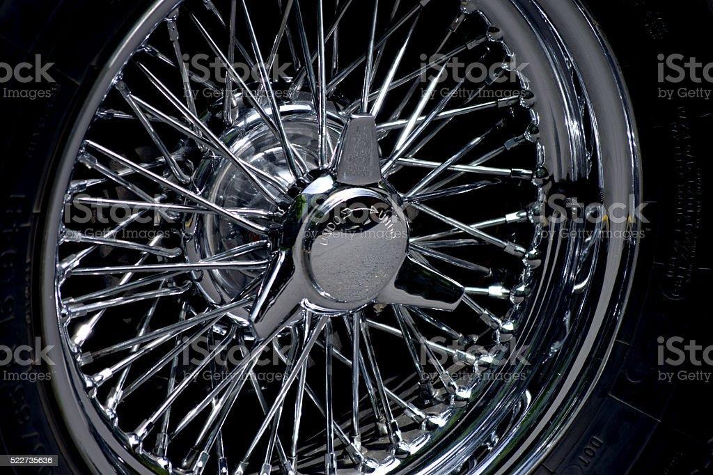 vehicle wheel stock photo