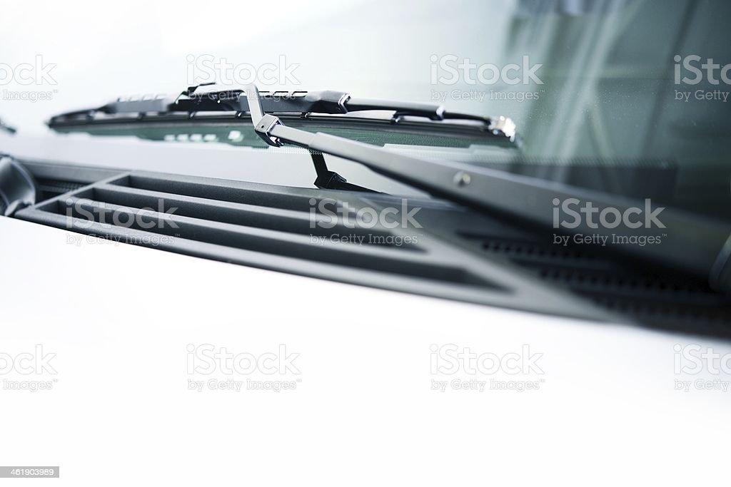Vehicle Wiper stock photo