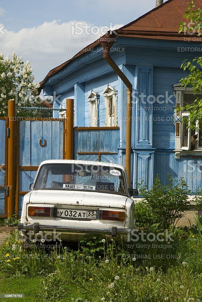 Veille voiture stock photo