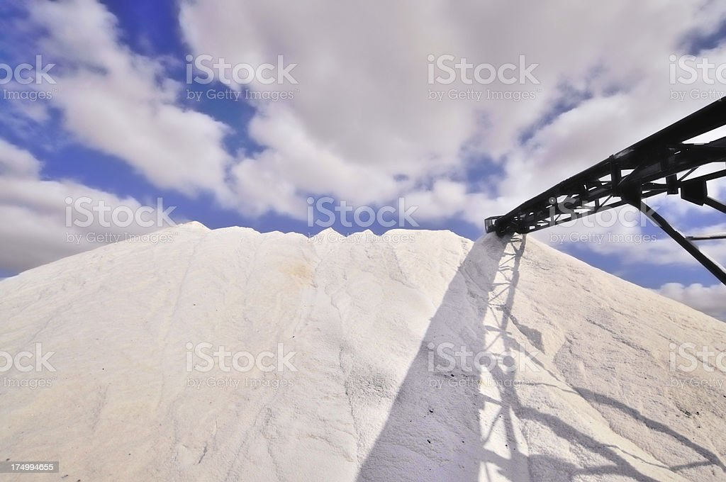 Veldrif Salt Manufacture royalty-free stock photo