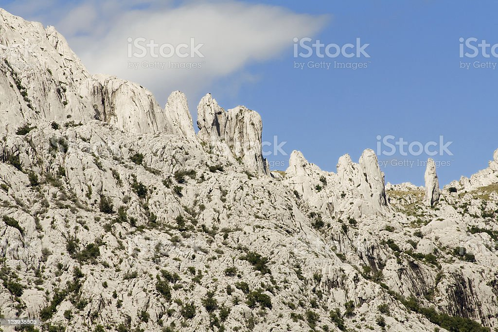 Velebit, natural park stock photo