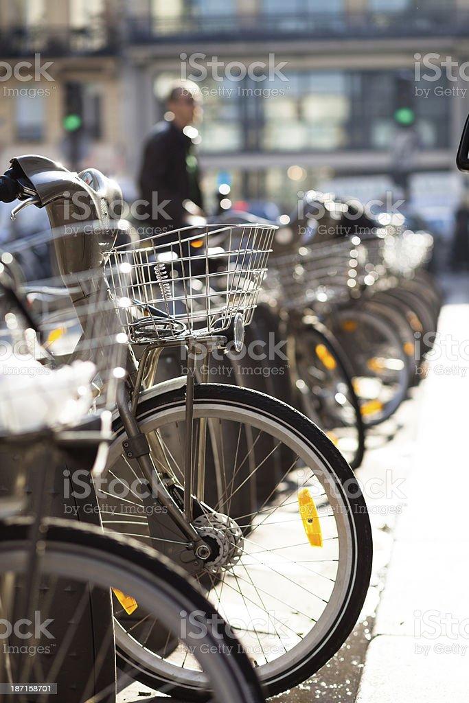Velib' - Paris Bike Share stock photo