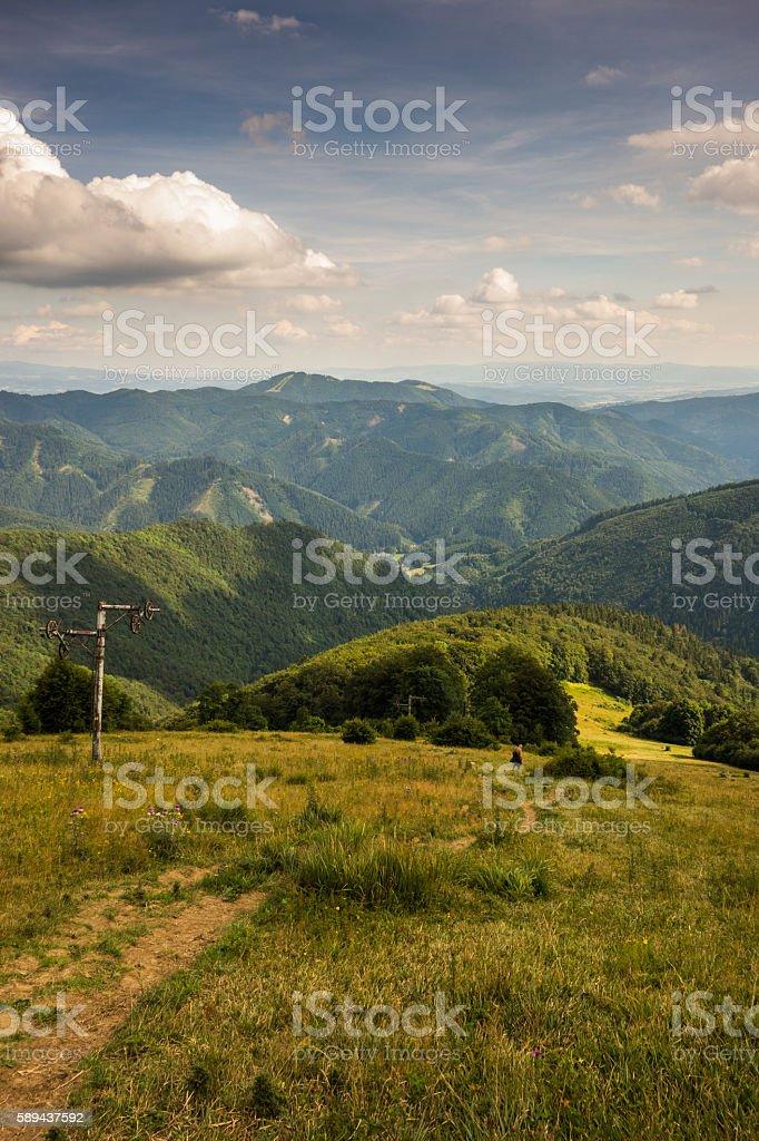 Velka Fatra - Slovakia stock photo