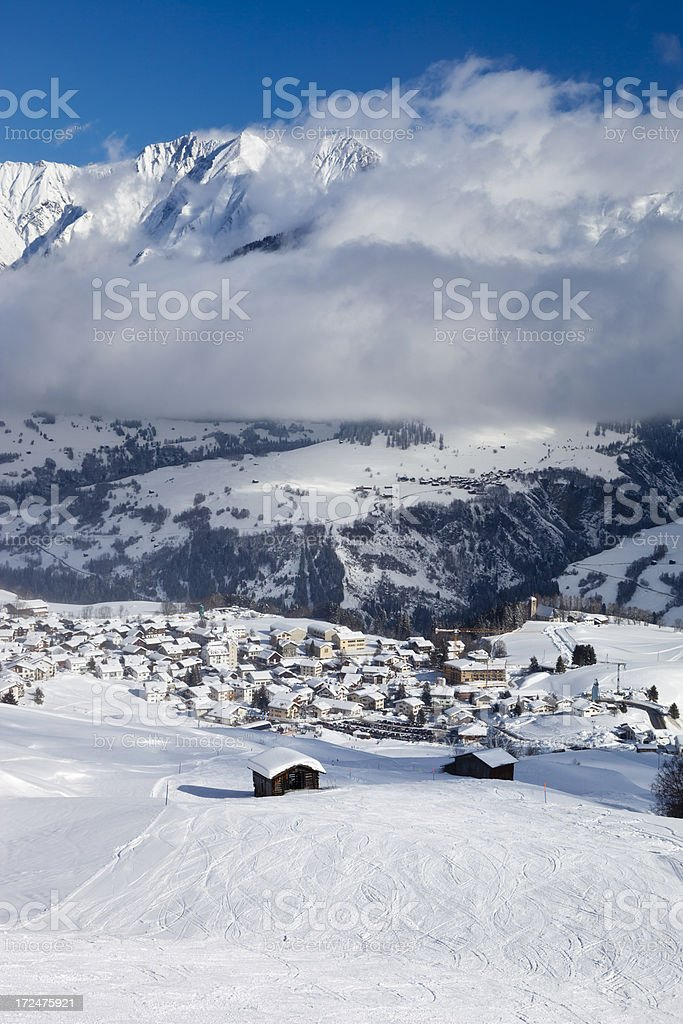 Vella in Winter royalty-free stock photo