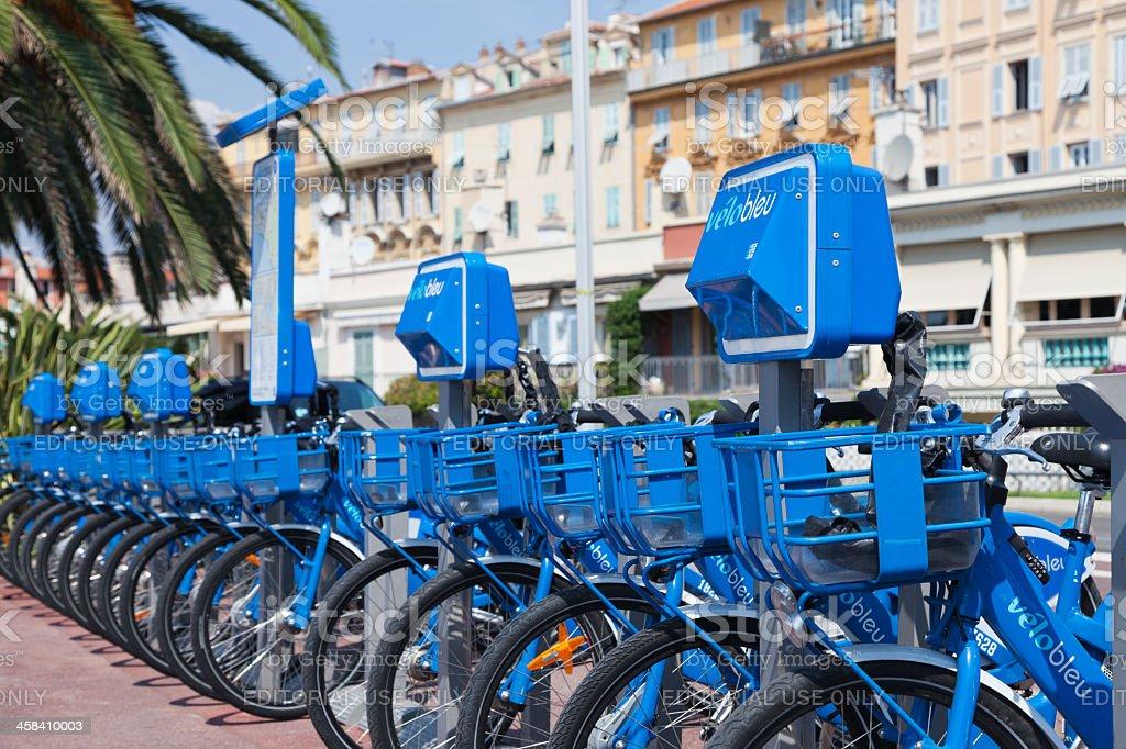 Velo Bleu royalty-free stock photo