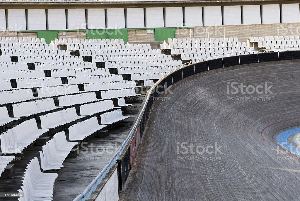 Velodrome Sports Stadium royalty-free stock photo
