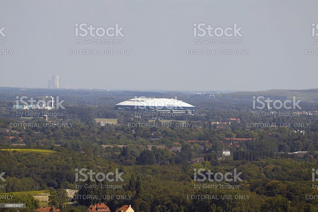 Veltins Arena, Schalke and Gelsenkirchen stock photo