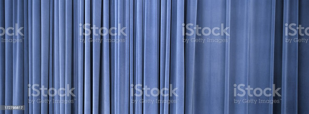 Velvet Curtain royalty-free stock photo