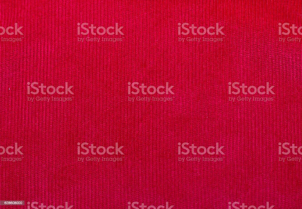 velvet fabric texture, red, for backgrounds and textures stock photo
