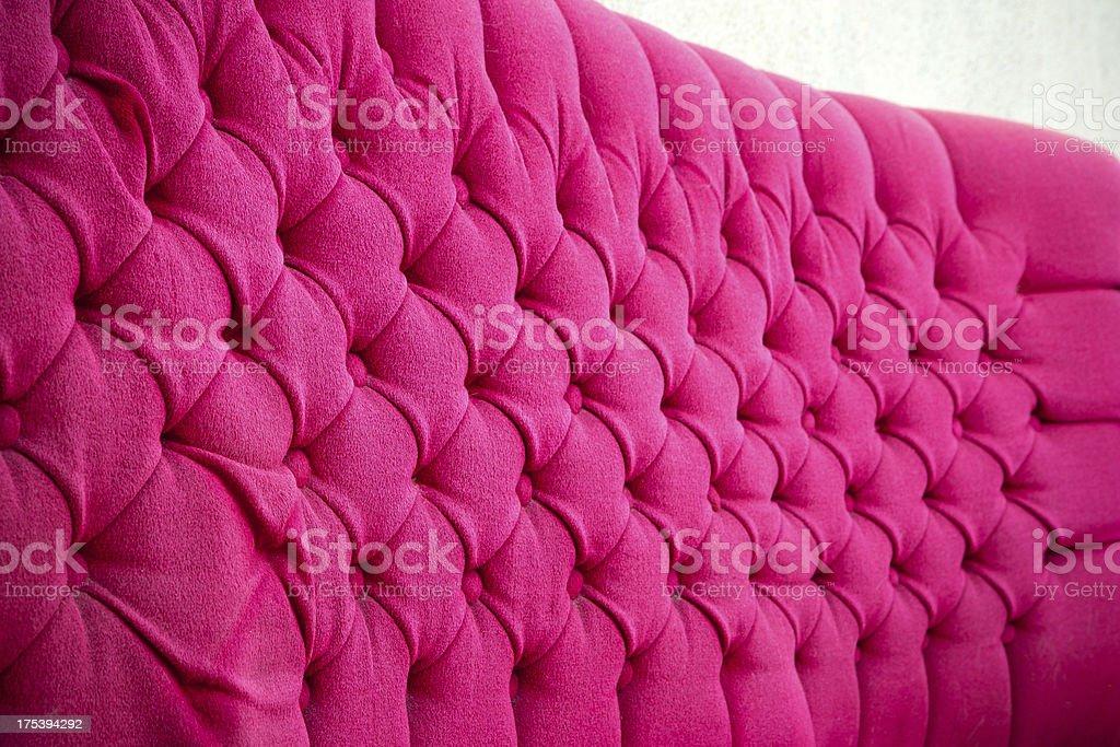 velvet pink sofa background royalty-free stock photo