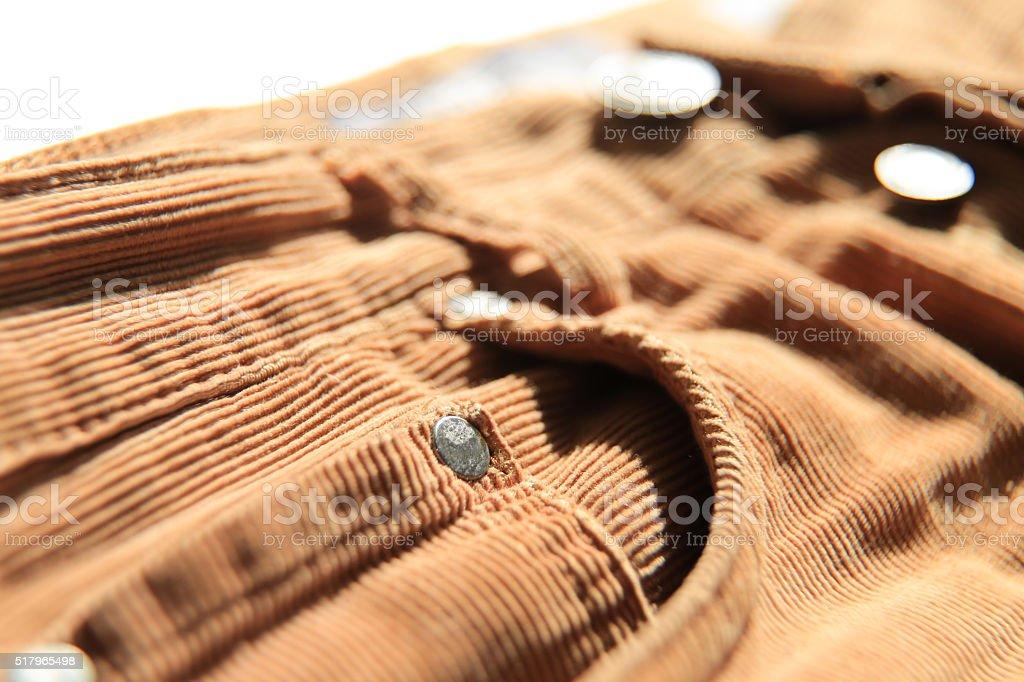 velveteen Jeans stock photo