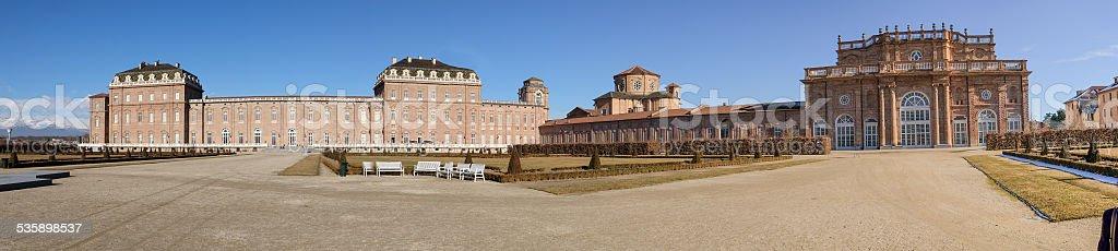 Venaria Reale In Turin Panoramic stock photo