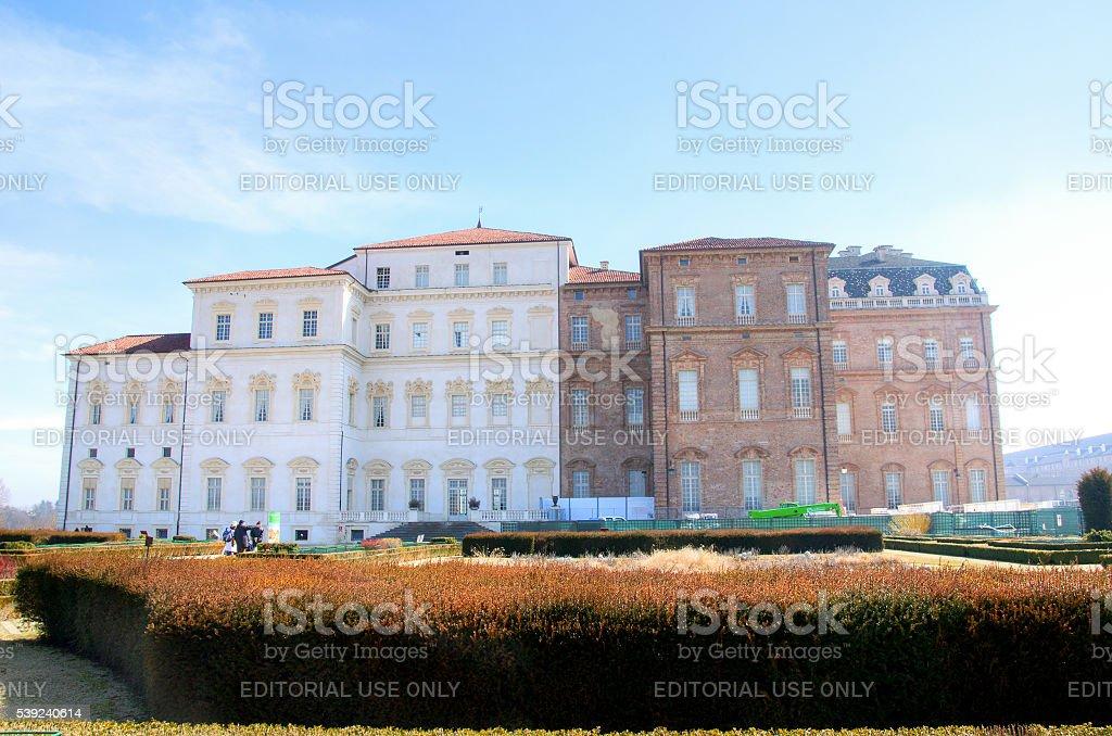 Venaria Reale royal palace turin piedmont italy stock photo