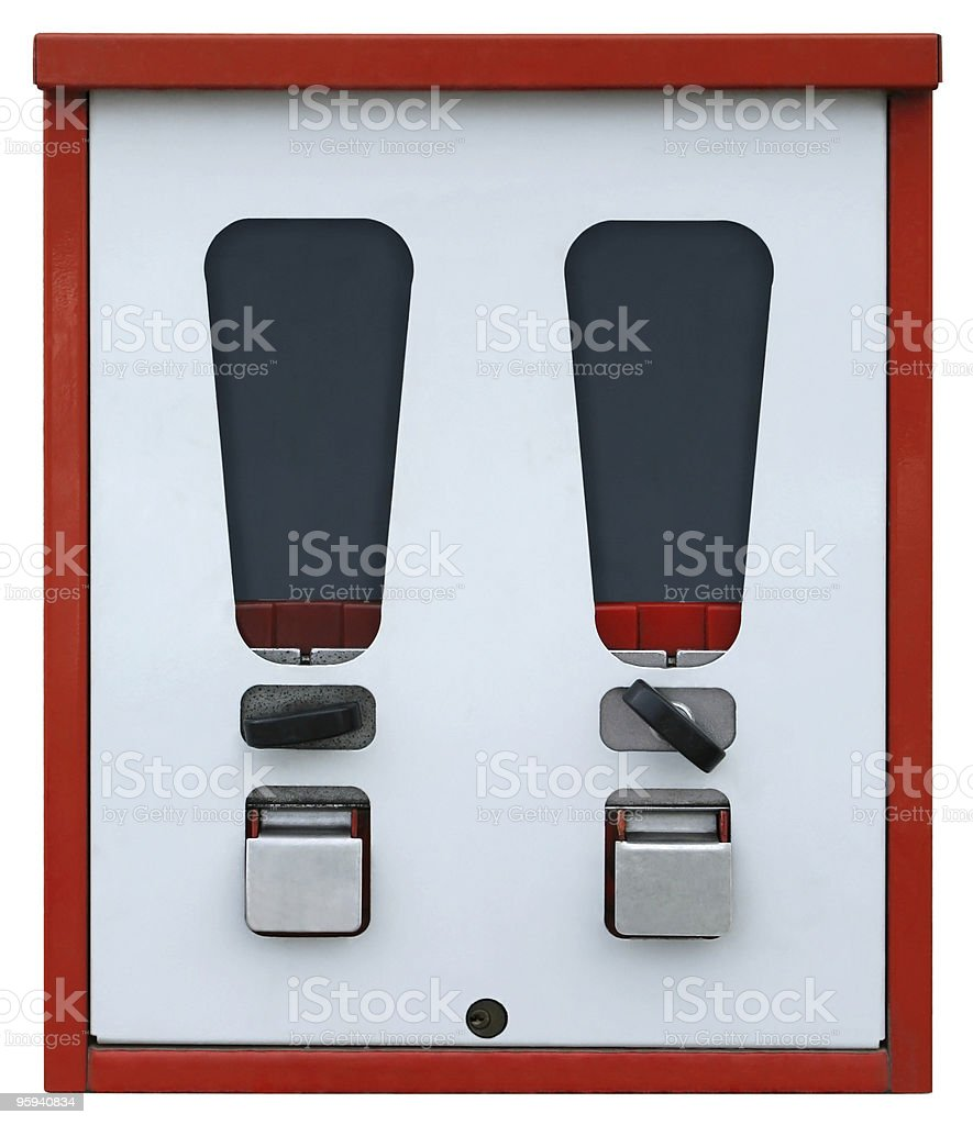 vending machine front royalty-free stock photo