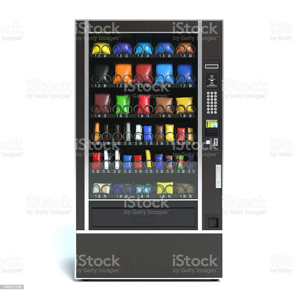 vending machine stock