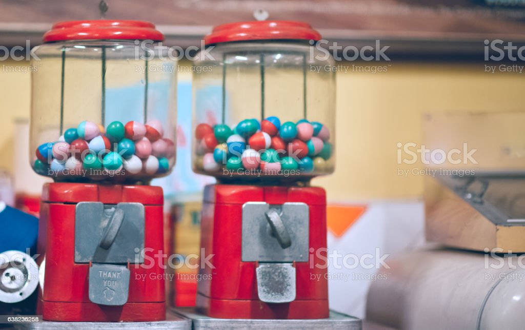 Vending slot machine stock photo
