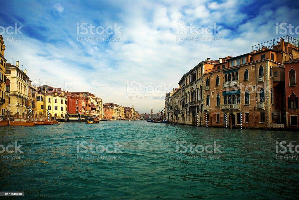 venecia - grand canal royalty-free stock photo