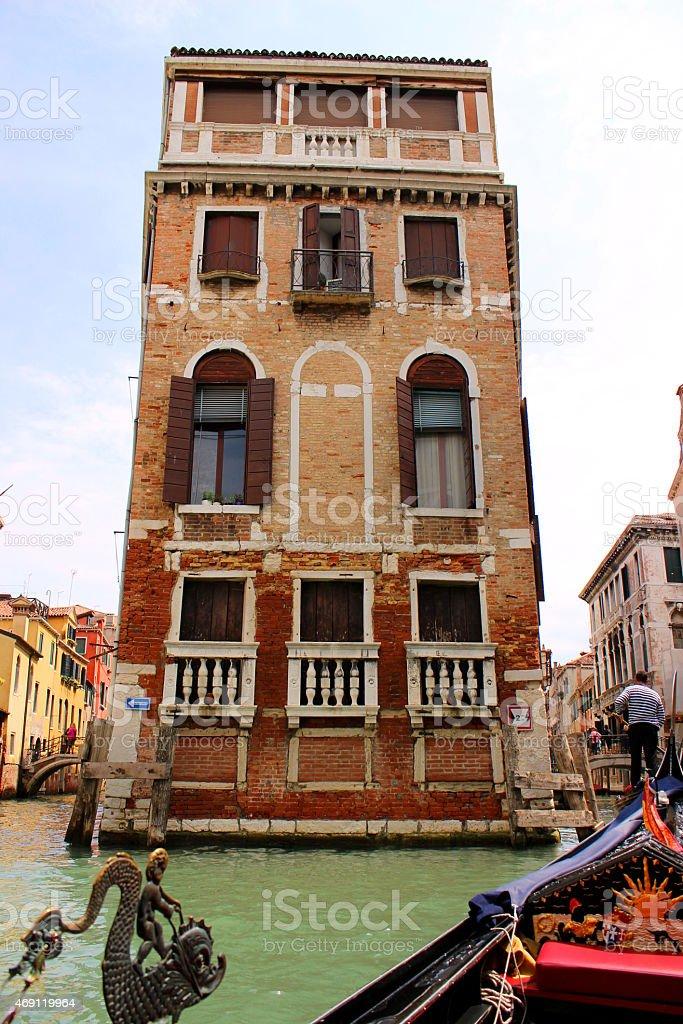 Venedig Kanal stock photo