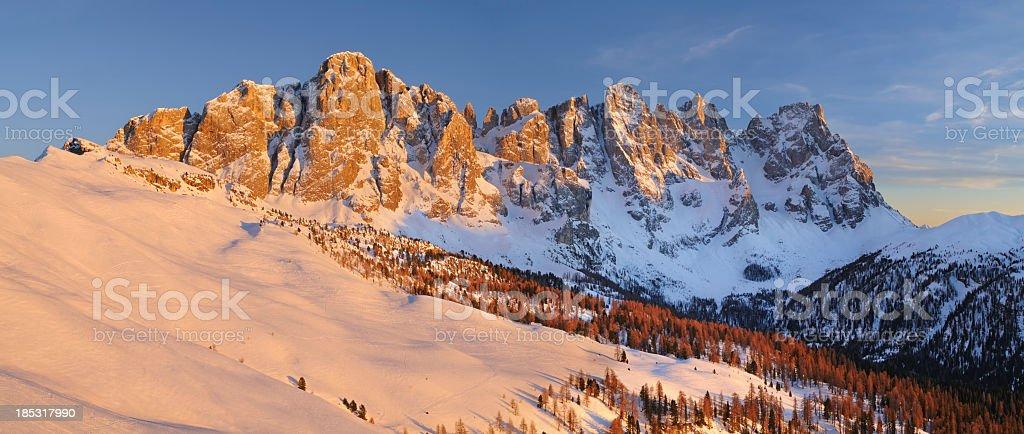 Venegia Valley (Dolomites - Italy) stock photo