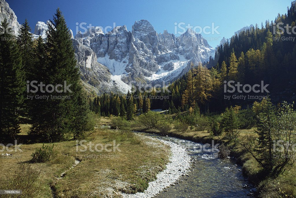 Venegia valley royalty-free stock photo