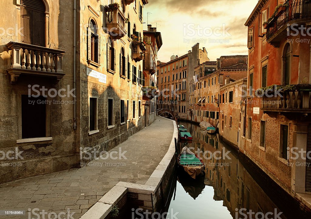 Venetian afternoon royalty-free stock photo
