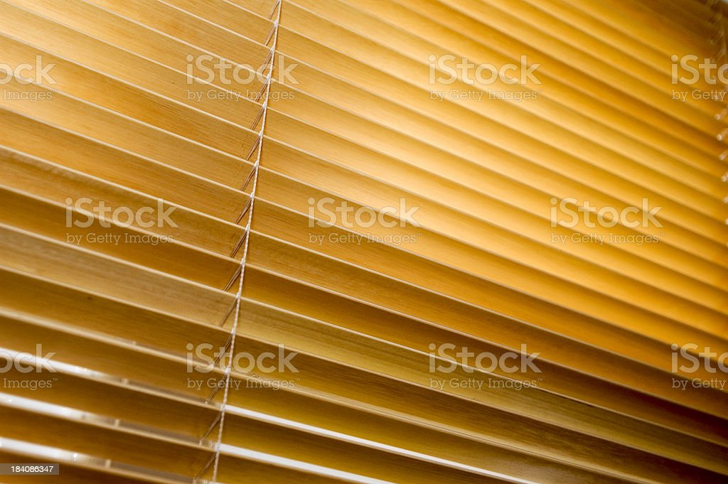 Venetian Blind royalty-free stock photo