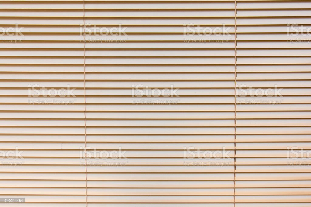 Venetian blinds background stock photo