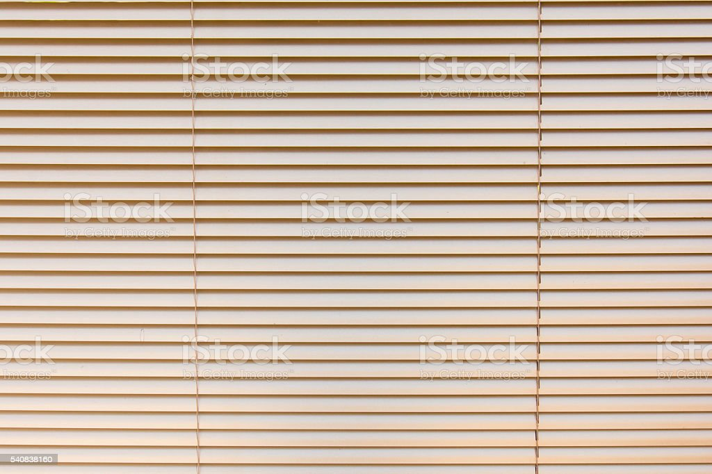 Venetian blinds background stock photo