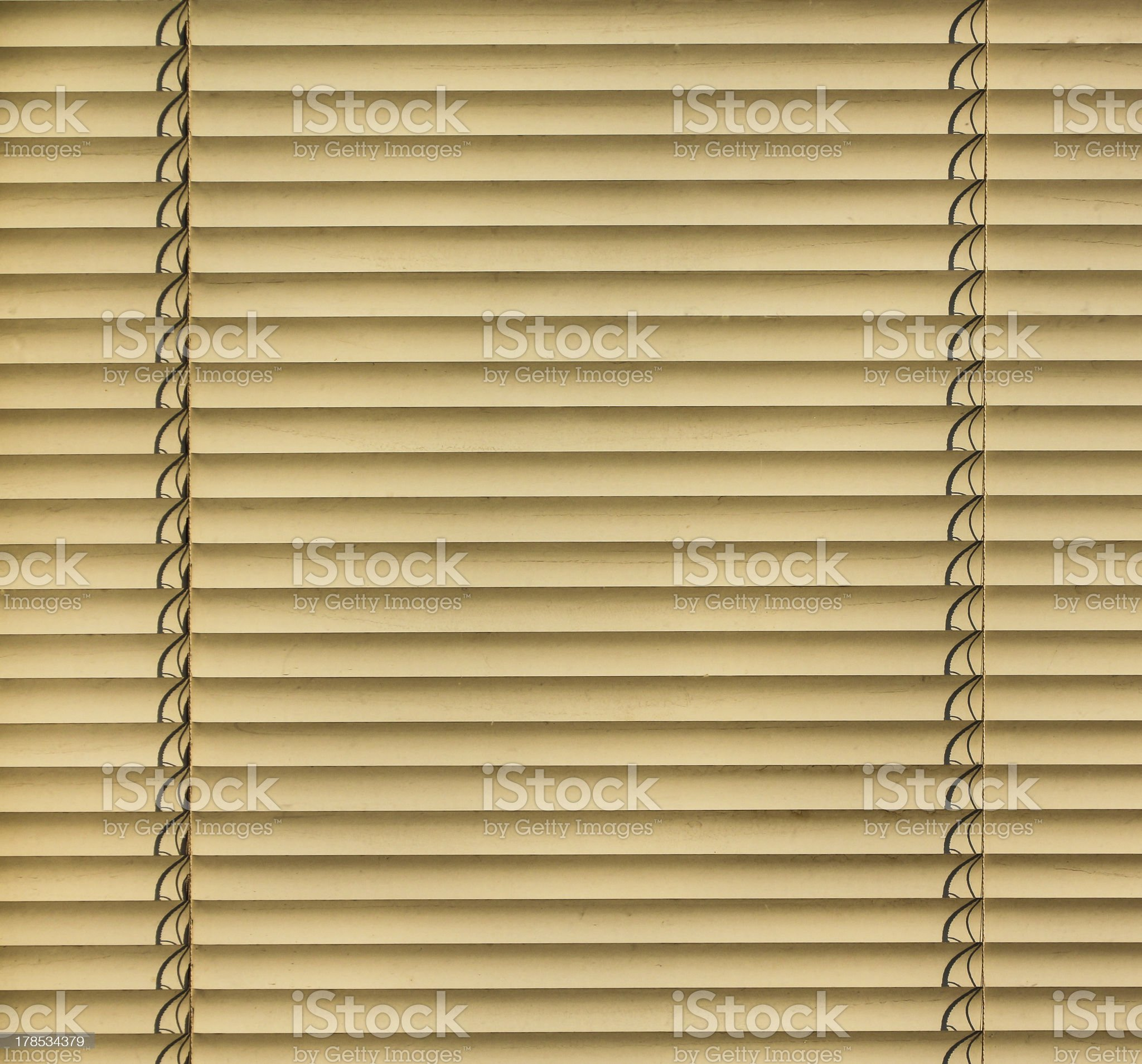 Venetian Blinds royalty-free stock photo