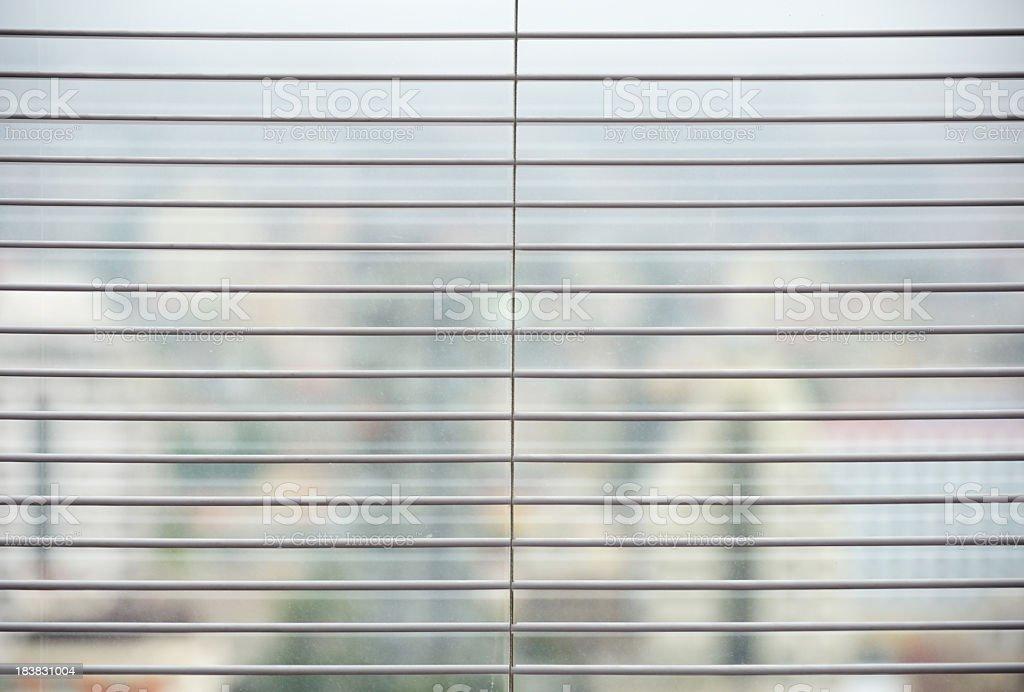 Venetian blinds royalty-free stock photo