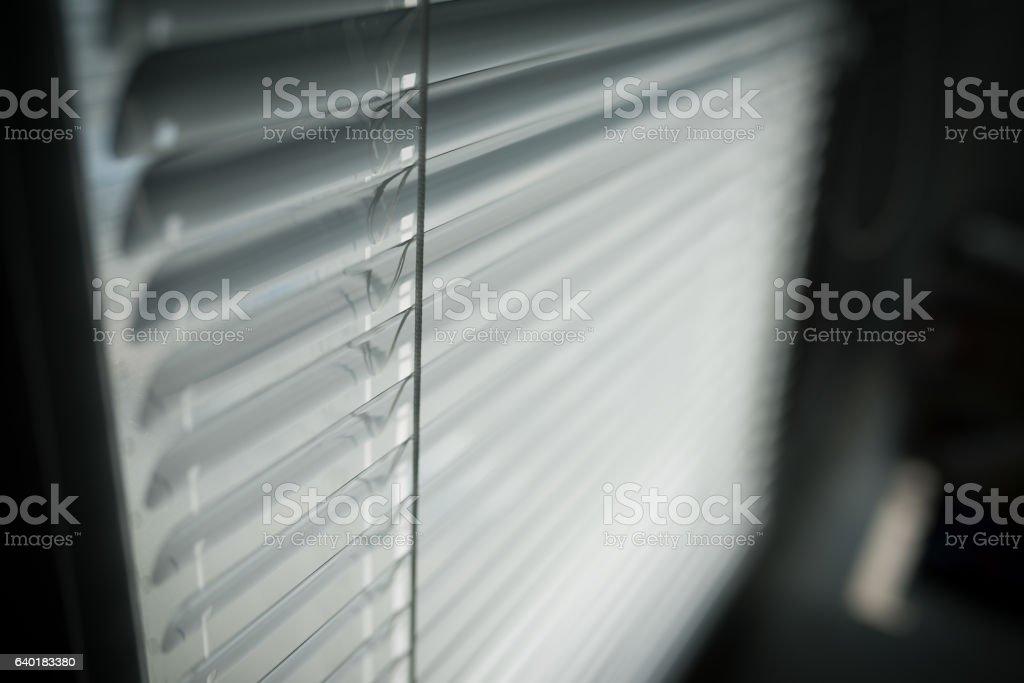 Venetian blinds. stock photo