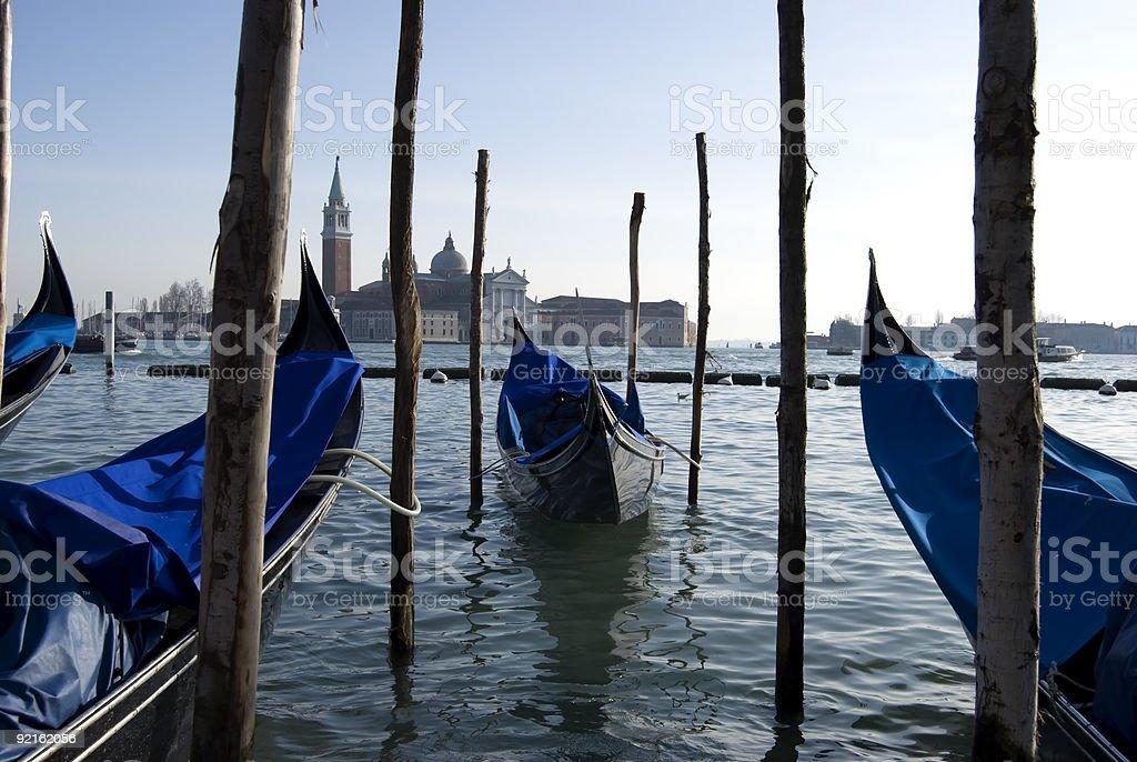 Venetian Boat royalty-free stock photo