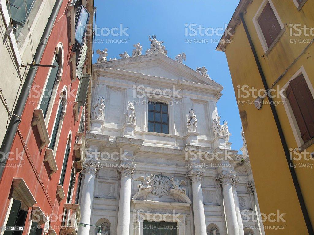 Venetian Buildings stock photo