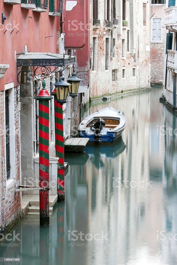 Venezianischen Canal Lizenzfreies stock-foto
