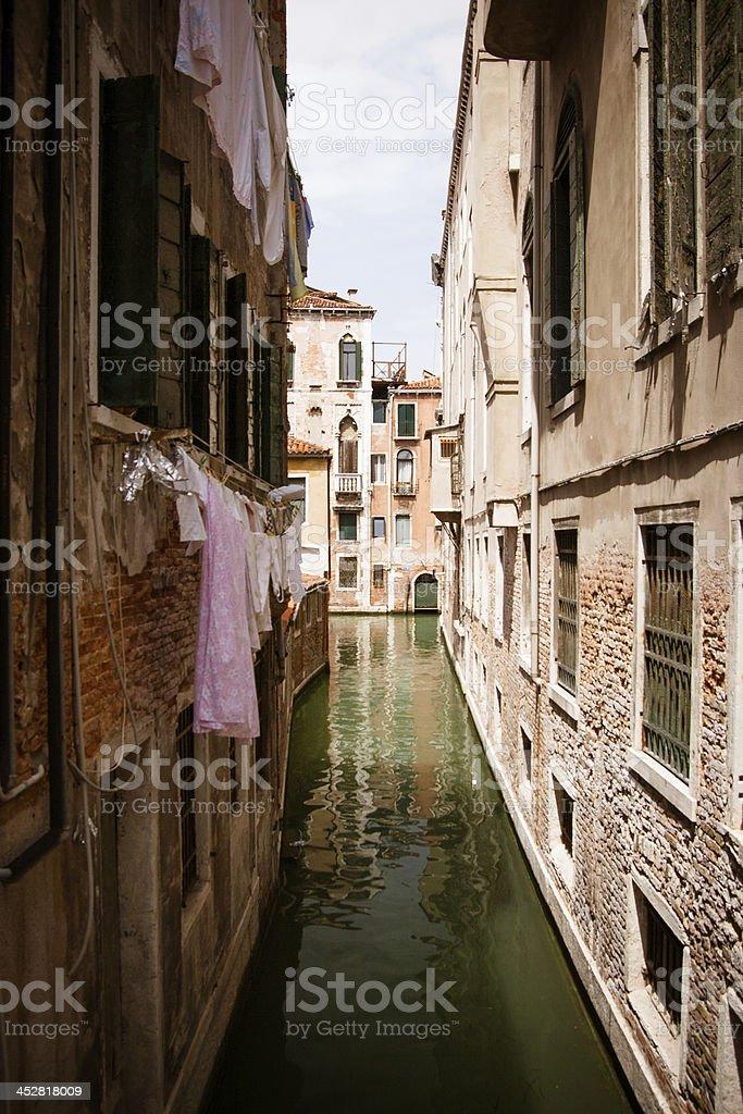 Venetian Canal royalty-free stock photo