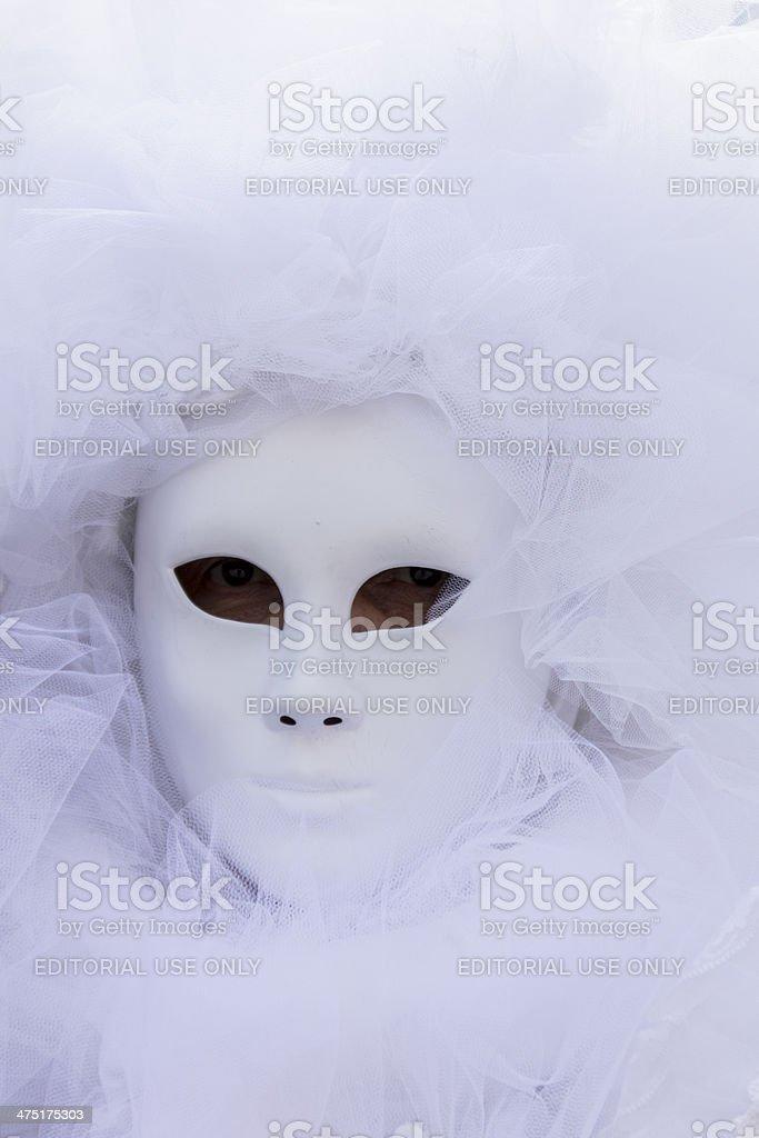 Venetian carnival mask royalty-free stock photo