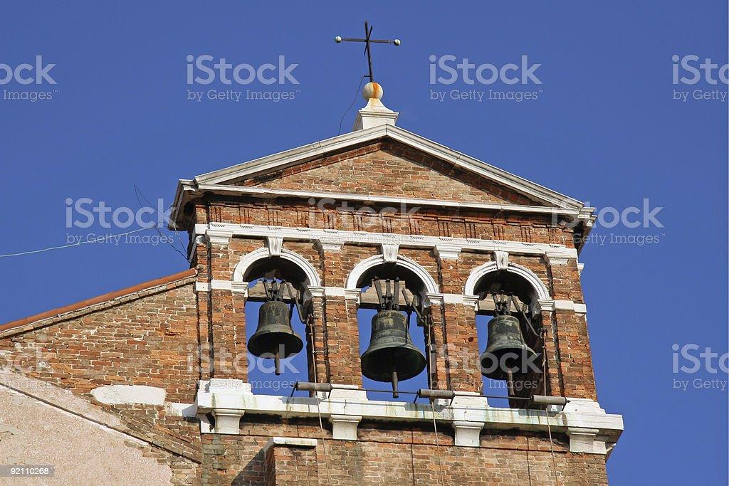 Venetian Church Bells stock photo