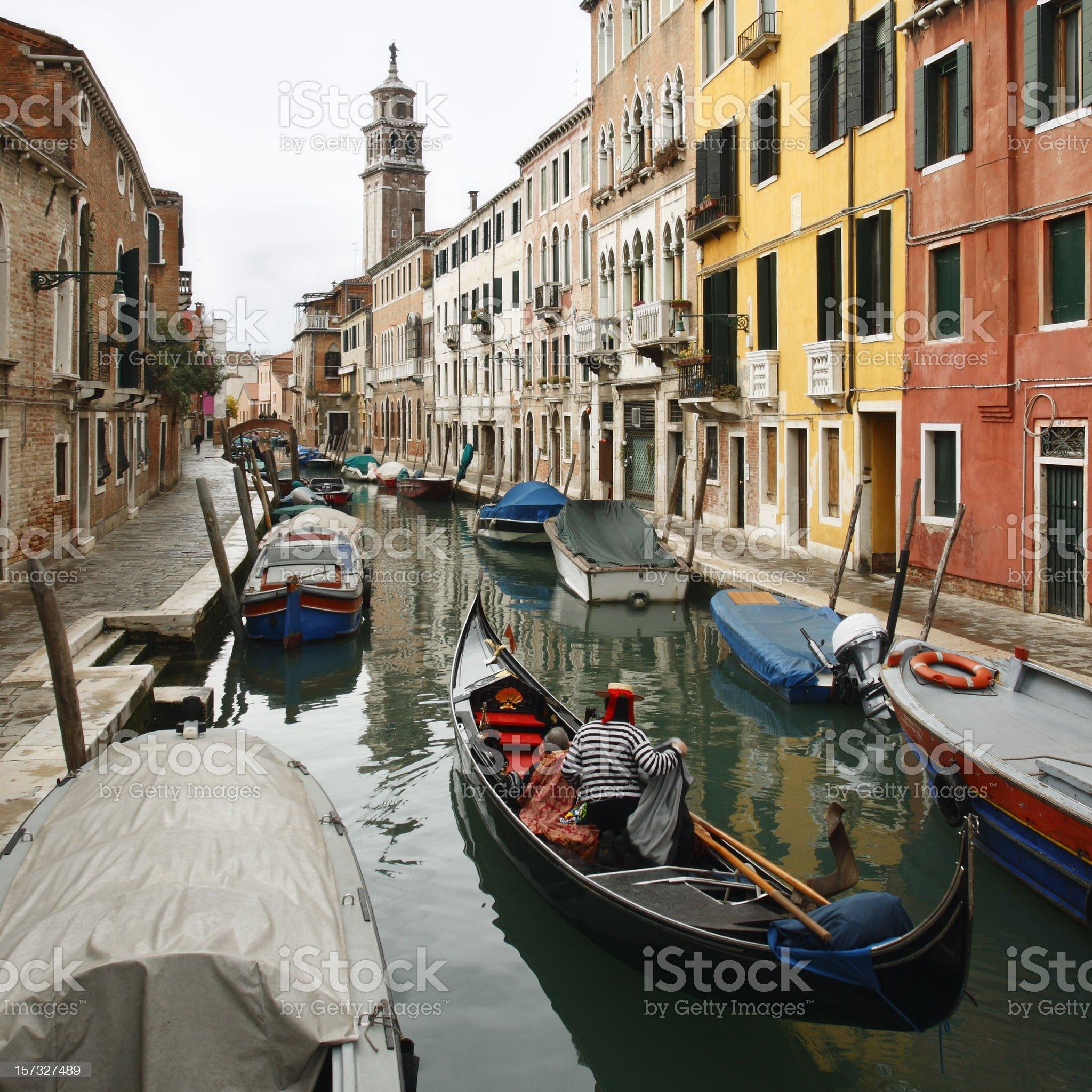 Venetian Cityscape royalty-free stock photo