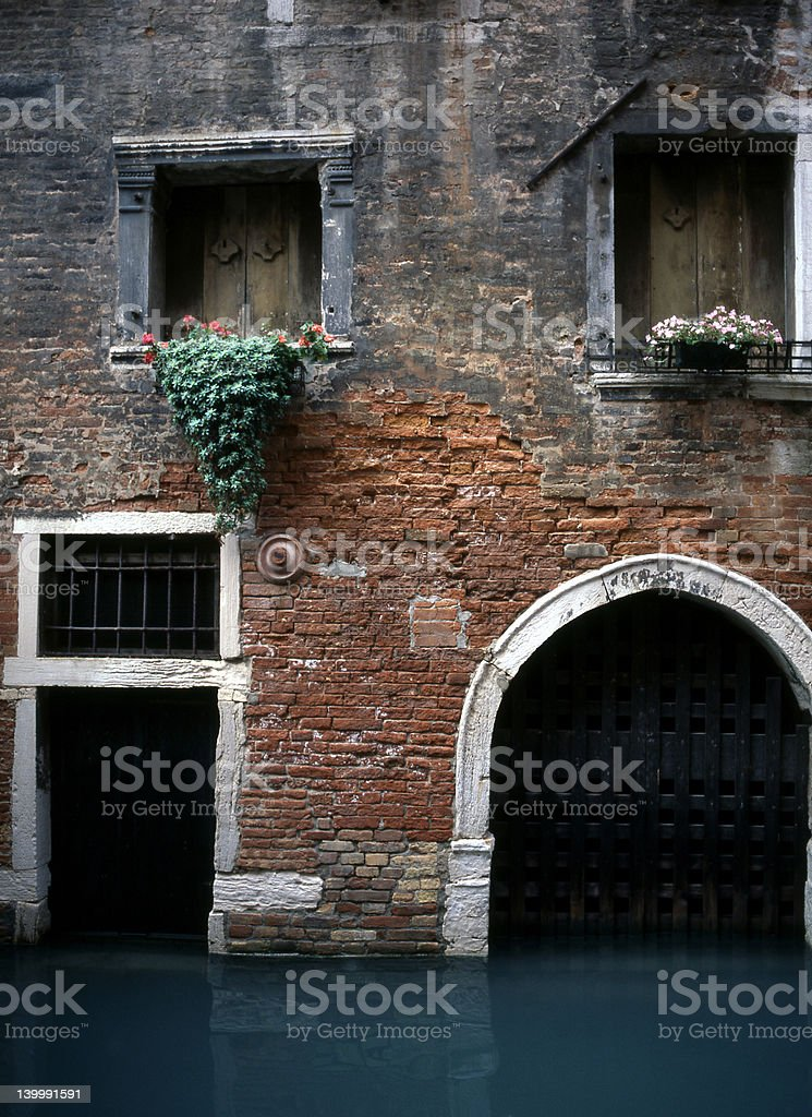 Venetian Entryway royalty-free stock photo