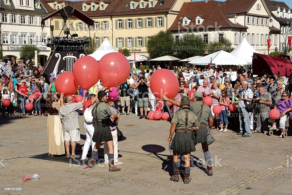 Venetian Fair 2012 in Ludwigsburg stock photo