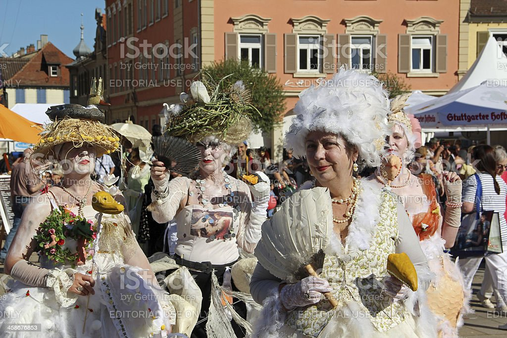 Venetian Fair 2012 in Ludwigsburg royalty-free stock photo