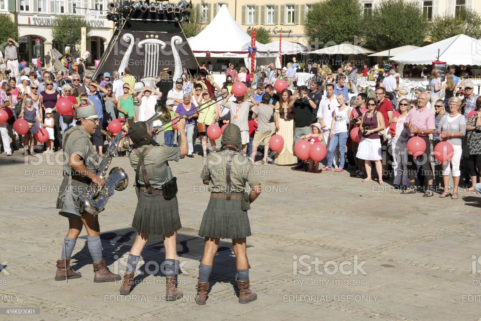 Venetian Fair in Ludwigsburg royalty-free stock photo