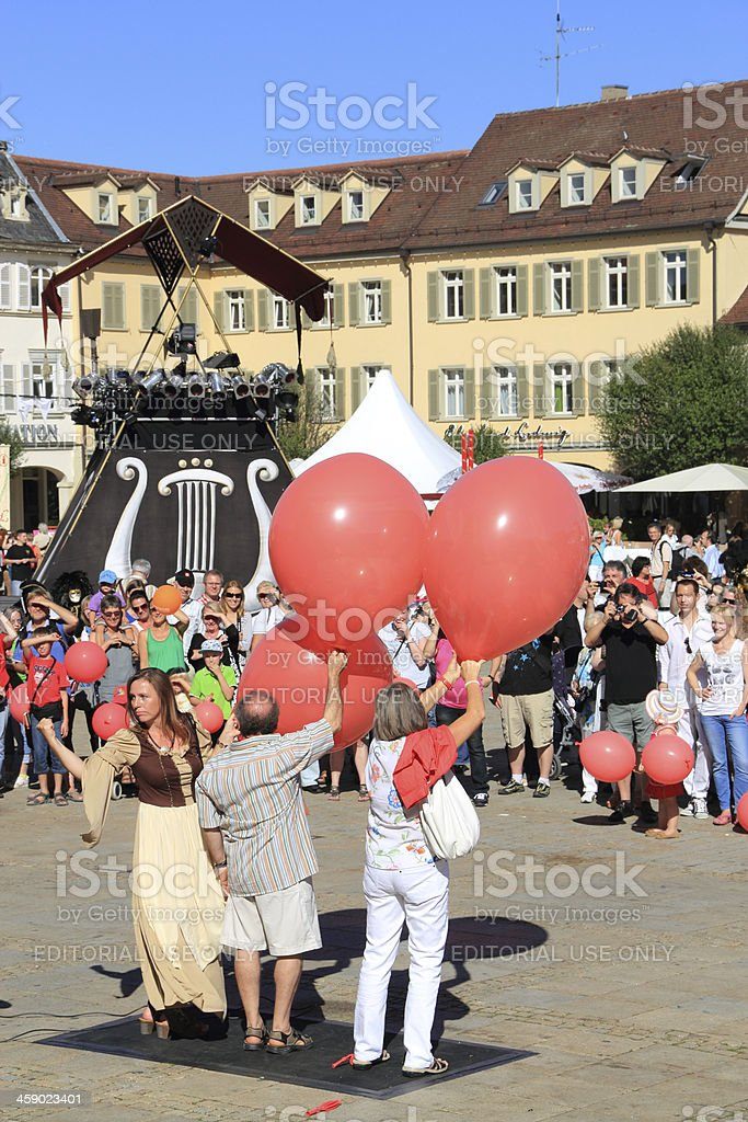 Venetian Fair in Ludwigsburg stock photo