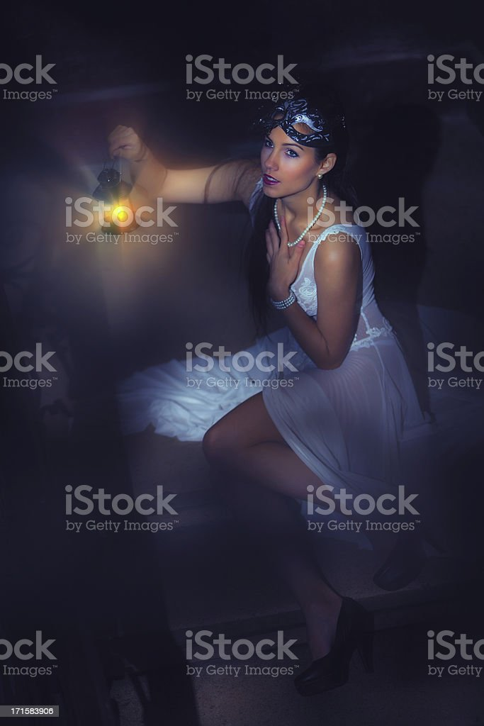Venetian fairy royalty-free stock photo