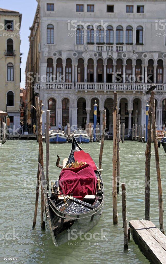 Venetian Gondola royalty-free stock photo