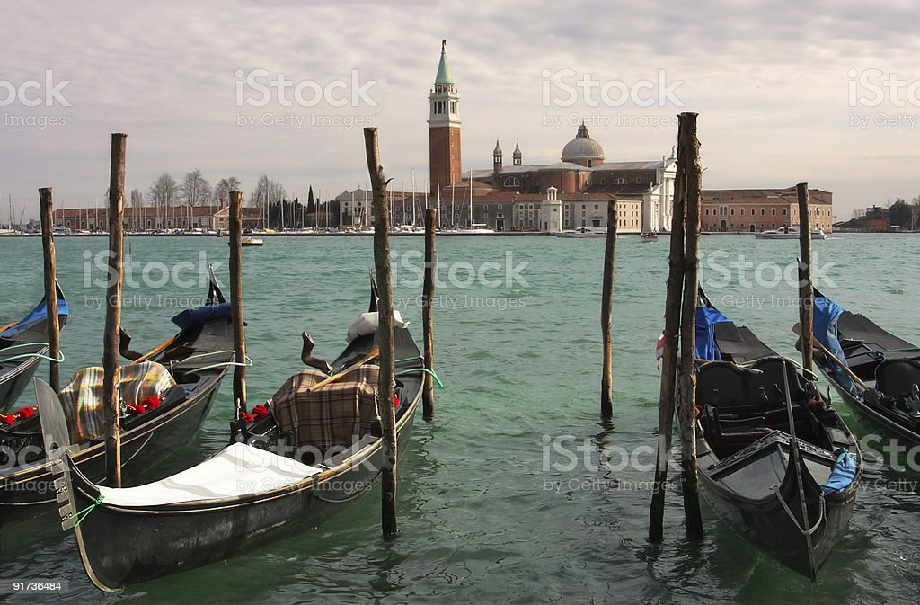 Venetian Grand canal. royalty-free stock photo