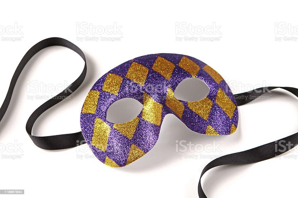 Venetian Harlequin Mask stock photo