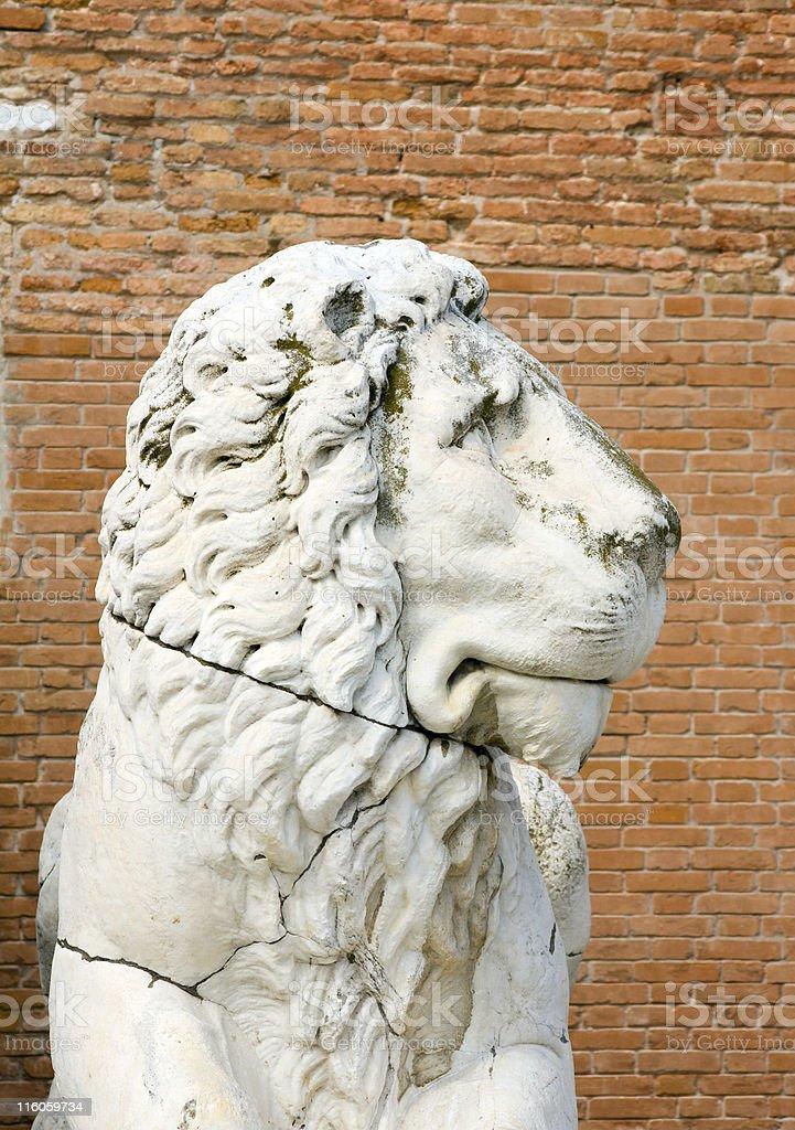 Venetian Lion stock photo