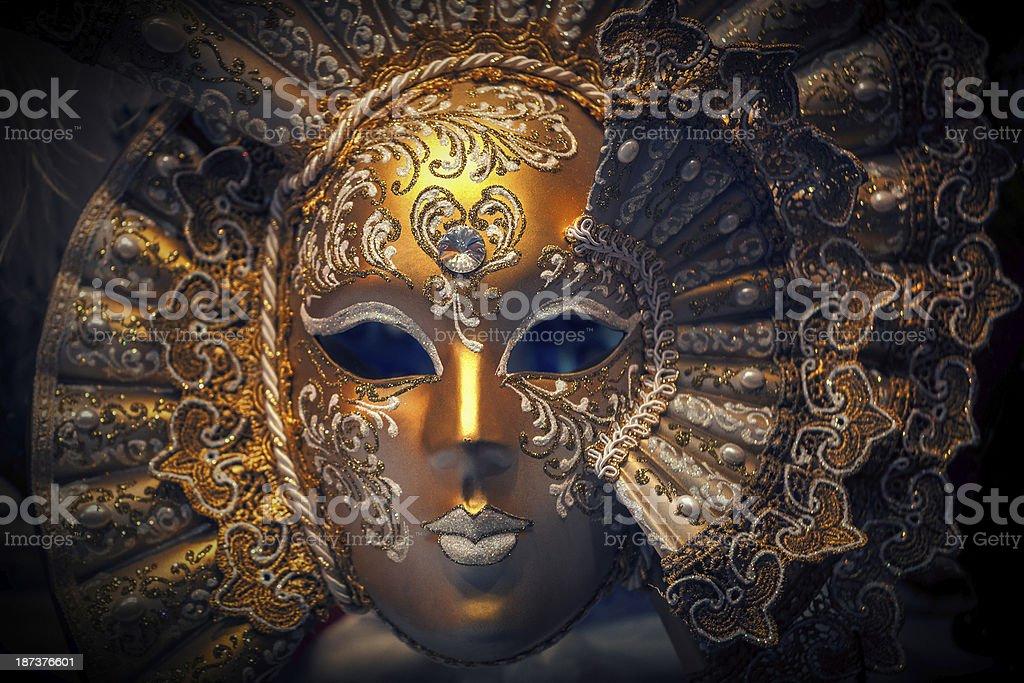 venetian mask close-up royalty-free stock photo